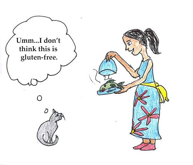 gluten-free cat
